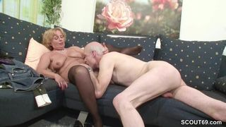 I licked her cum filled pussy